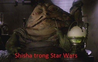 jabba hút shisha