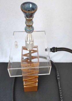 bình shisha thủy tinh nhựa M7