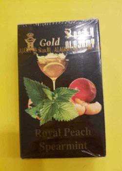 Thuốc shisha gold alajamy bạc hà trộn đào